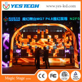 High Precision P4.8mm Indoor/Outdoor Full Color Rental LED Video Board