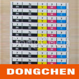 Color Indication Label/ Color Guide Label Sticker (DC-LAB026)