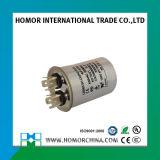 Aluminum Case Round Type Cbb65 Air Condition 5UF 250V Capacitor