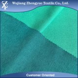 Brushed Melange Twill Double Face Polyester 4 Way Stretch Fabric