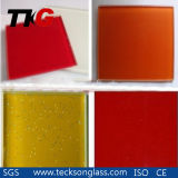 Red/Yellow Painted Glass with High Quality