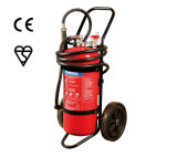ABC Dry Powder/Foam Trolley/Mobile/Wheeled Fire Extinguisher with Bsi Kitemark/En3/Ce/Med Approved