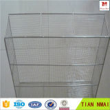 304 Stainless Steel Sterilization Welded Wire Mesh Instrument Basket