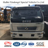 6cbm Dongfeng Euro 4 Hydraulic Rear Loading Compressed Garbage Truck