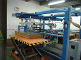 Automatic Carrying Robot for Wood Block Sheets