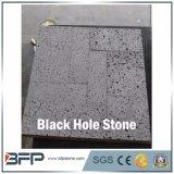 Black Hole Stone--Black Basalt for Garden Floor Tile