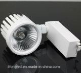 LED Track Spotlight High Power 35W Energy Saving Track Light for Museum