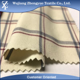 Twill Yarn Dyed Nylon Polyester Spandex Checked Fabric for Woman Pants
