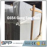 G654 Dark Grey Granite Big Slab with Saw Cut Surface