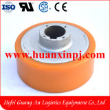 Xilin Reach Forklift Cqd15 PU Drive Wheel 250X100/140mm