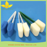 Dental Equipment Plastic Handle Sponge Swab Stick