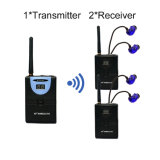 Wireless Music Transmitter and Receiver 1 Transmitter 2 Receivers 64k@16bits