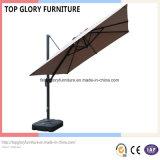 Square Polyester Top Roman Umbrella with Aluminium Alloy Frame Outdoor Garden Umbrella (TGTA-002)