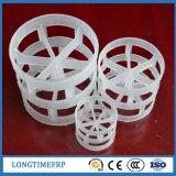 50mm High Mass Transfer PP PVC Separation Pall Ring