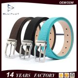 Attractive Genuine Black Snake Leather Steel Buckle China Belts for Men