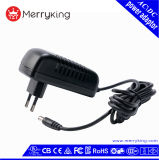 Eco-Friendly 36W Wall Mount Power Supply Adapter 12V 3A