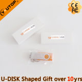 Custom Logo Gift White Paper Box for USB Flash (YT-1201)