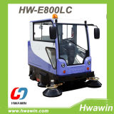 Electric Road Sweeping Sweeper Machine with Water Spray