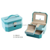 PU Leather Jewellery Box Cosmetic Case Beauty Case Jewelry Case