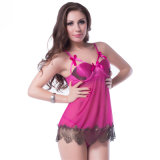 Wholesale Price Pink Romance Women Sexy Babydoll