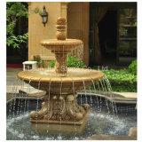 G682 Rust Yellow Granite Stone Garden Water Fountain