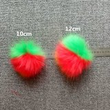 2017 Multi Color Faux Fur Pompom Key Chain Fur Ball