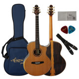 High Grade All Solid Double Cedar Top Acoustic Guitar