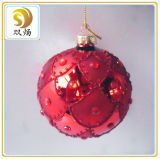 Hand Blown Clear Glass Christmas Ball Ornaments