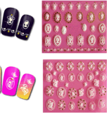 3D DIY Nail Decoration Sticker