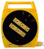 6 Grounded Outlets Power Strip with 20feet Cable Reel