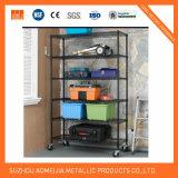 Newspaper Metal Storage Rack/Wiremesh Storage Shelving/Adjustable Wire Mesh Display Stand