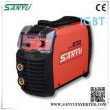 Shanghai Sanyu 2014 New Developed High Duty-Cycle MMA Portable Welding Machines
