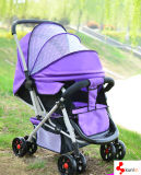 Lightweight Baby Pram /Buggy Carrying Trolley Big Storage
