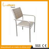 Wicker Leisure Garden Set Beer Stool Aluminum Rattan Bistro Cafe Dining Chair