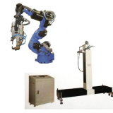 2 Axis Dimension Manipulator Control Center Unit Platform & 6 Axis Robot Arm for Thermal Spraying Coating Plating Whelding Glazing Painting