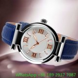 Hot Fashion Alloy Watch with Genuine Leather Ja-15101