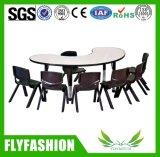 Hot Sale School Kid Fureniture Wooden Table Chair