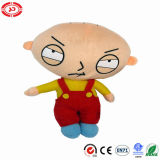 Unhappy Angry Little Kid Plush Stuffed Cartoon OEM Doll