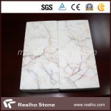 Own Quarry White Marble with Yellow/Red/Grey Veins (RHCA-008)