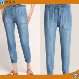 Wholesale Women Fashion Jogger Cotton Denim Jean Pant