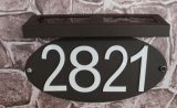 Fq-544 Lighted Solar LED Plaques Address Signs Doorplate Light