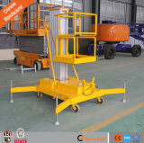 10m Ce & ISO Aluminum Alloy Lift Platform Man Aerial Lift