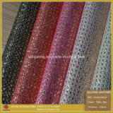 New Design Glitters Lace & Glitters Leather for Shoes (SP029)