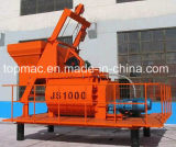 Js1000 Twin Shaft Mixer 1m3 Price for Concrete Mixer Plant