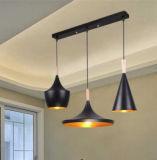 Exquisite Indoor Wooden Iron Pendant Lamp