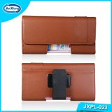 Universal Belt Clip Leather Flip Holster Mobile Phone Case Pouch