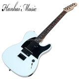 Hanhai Music/Sale Price White Tele Style Electric Guitar