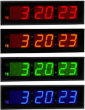 Acrylic Mateiral Large LED Digital Count Down Wall Clocks (ZT-028AR)