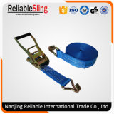 Customized Ratchet Tie Down Strap with Flat Snap Hook