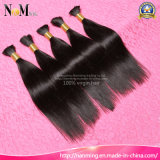 Peruvian Remy Human Hair Bulk Without Processed Virgin Material Factory Wholesale